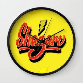 Shazam! Wall Clock