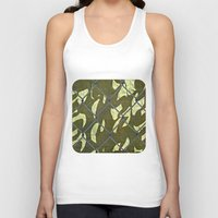 camouflage Tank Tops featuring Camouflage  by Ethna Gillespie
