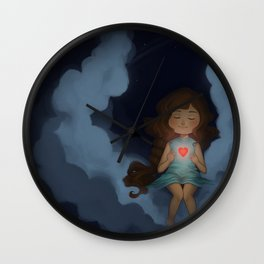 Let your lirght shine. Wall Clock