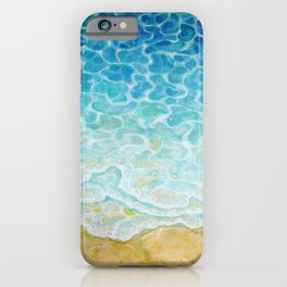 Watercolor Sea G564 iPhone Case