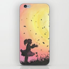 Surrounded By Love / Les Papillons iPhone Skin
