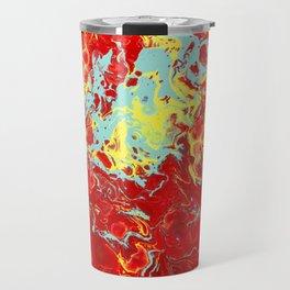 Splattered Travel Mug