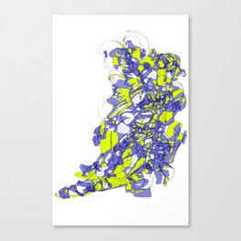 Blue Transitions  Canvas Print