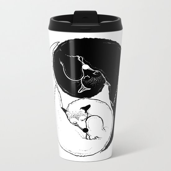 The Tao of Fox Metal Travel Mug