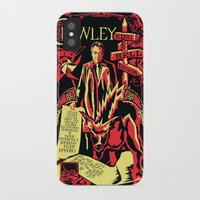 crowley iPhone & iPod Cases featuring Crowley by Tracey Gurney