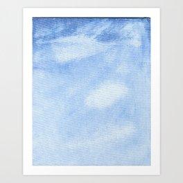 Clear Sky Art Print