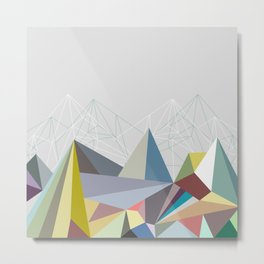 Colorflash 1 Metal Print
