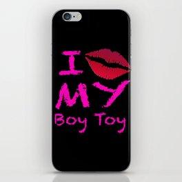 Boy Toy iPhone Skin