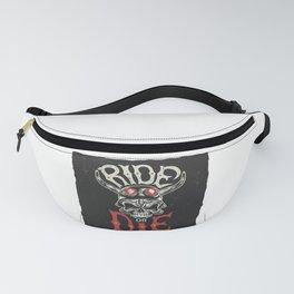 Ride or Die Motorcycle Fanny Pack