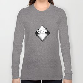 Triangle paradis Long Sleeve T-shirt