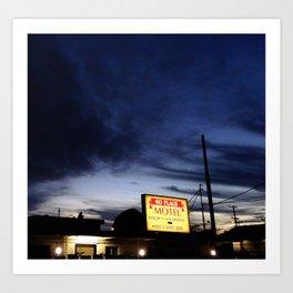 Motel Art Print