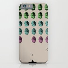 Faceinvaders iPhone 6s Slim Case