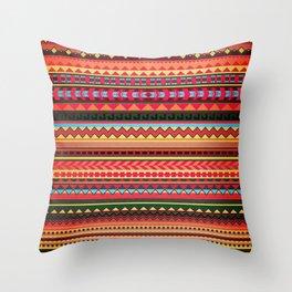 Bulgarian Rhapsody Pattern Throw Pillow