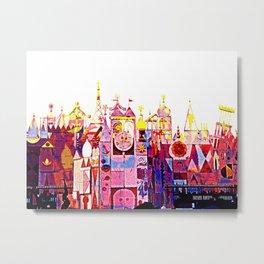 SMALL WORLD 011 Metal Print
