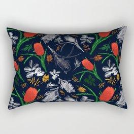 Banksia and Grevillea Pattern Rectangular Pillow