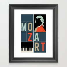 Mozart  Framed Art Print