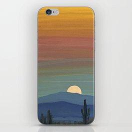 Arizona Moonrise iPhone Skin