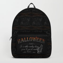 Halloween: The Real Me Backpack