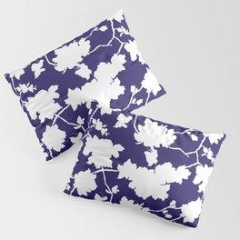 Chinoiserie Silhouette Navy Pillow Sham