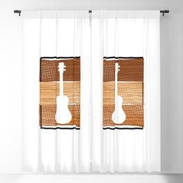 Ukulele  TShirt Music Instrument Shirt Musician Gift Idea Blackout Curtain