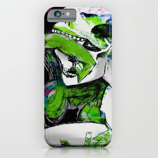 Sugar Skull Kisses iPhone & iPod Case