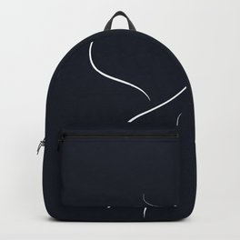 say it with a flower .. calla lily Backpack