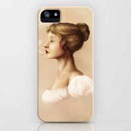 Smoking Jane iPhone Case