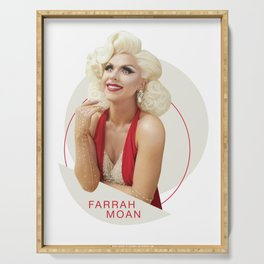 Farrah Moan - Red Serving Tray