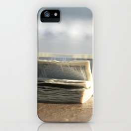 Book on the Beach iPhone Case