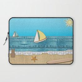 Life's a Beach Laptop Sleeve
