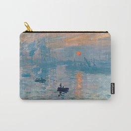 Claude Monet - Impression Sunrise Carry-All Pouch