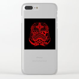 Bloody Stormtrooper Clear iPhone Case
