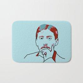 Marcel Proust Bath Mat