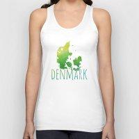 denmark Tank Tops featuring Denmark by Stephanie Wittenburg