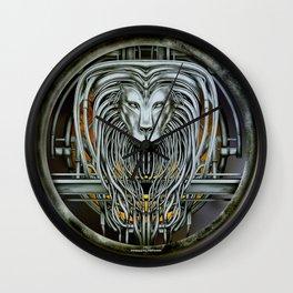 """Astrological Mechanism - Leo"" Wall Clock"