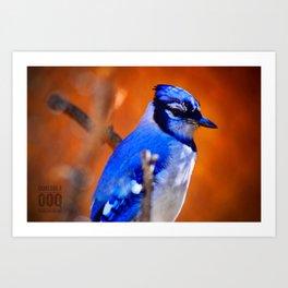 Bleu J Art Print