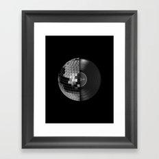 Disco Mix Framed Art Print