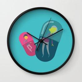 People Pills Wall Clock