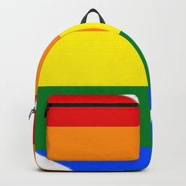 Rainbow Heart Backpack