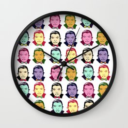 The Drac Pack  Wall Clock
