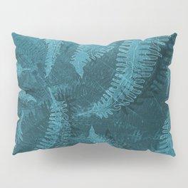 Ferns (light) abstract design Pillow Sham