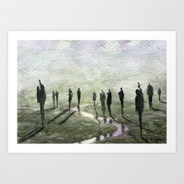 The Million Masks of God Art Print