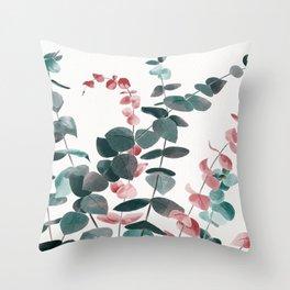 Eucalyptus Silver Dollar Throw Pillow