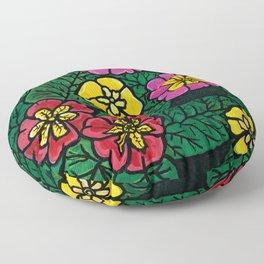 Primroses Floor Pillow