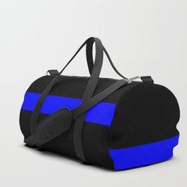 Thin Blue Line Police Flag Duffle Bag