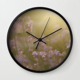 Reassurance (Magic Garden Series) Wall Clock