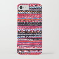 batik iPhone & iPod Cases featuring Batik Attack by RAMALAMA