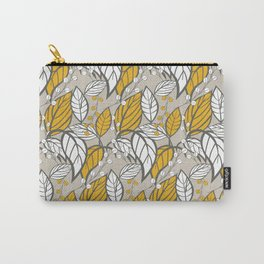 Leaves pattern 03 Carry-All Pouch