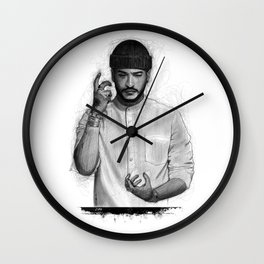 Slimane The Voice Wall Clock