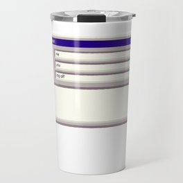 Log Off Travel Mug